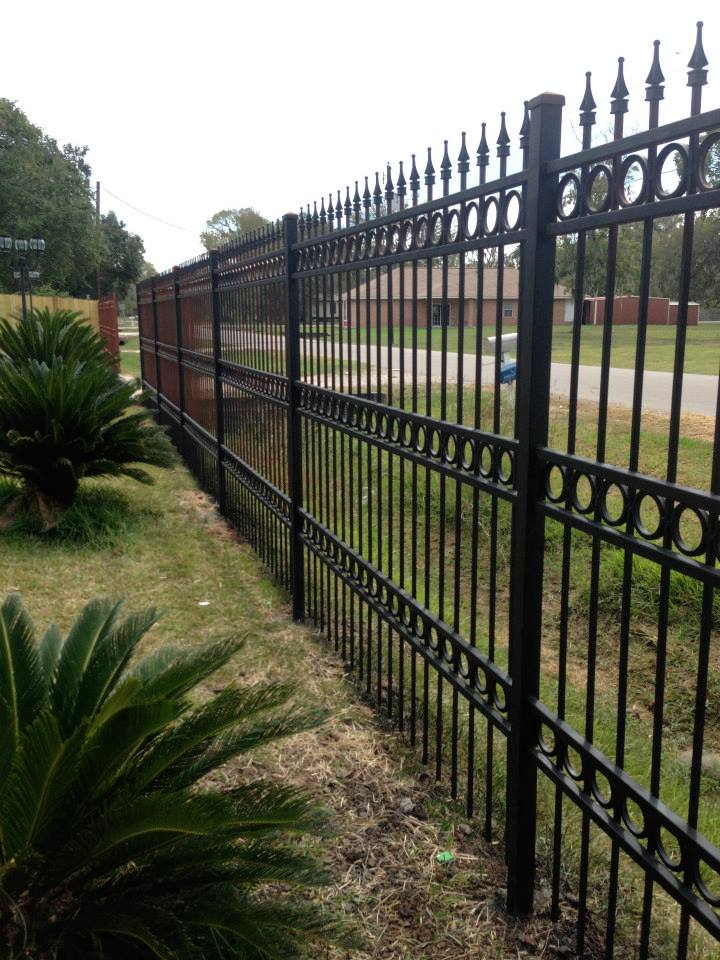 metal fence in Bellaire TX 77401
