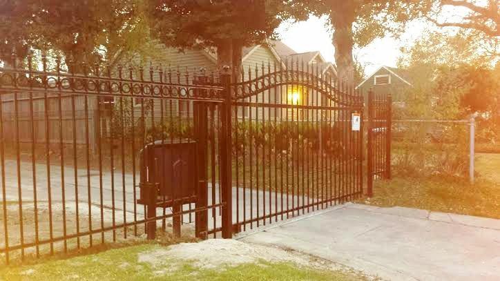 Wrought Iron Fence Houston Tx Gates Metal Panels